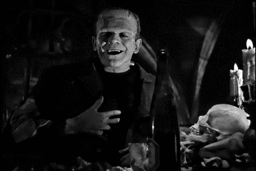 Bride of Frankenstein Karloff Smile